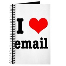 I Heart (Love) Email Journal