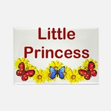 Little Princess Rectangle Magnet