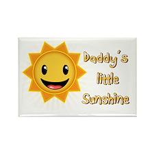 Daddys Little Sunshine Rectangle Magnet
