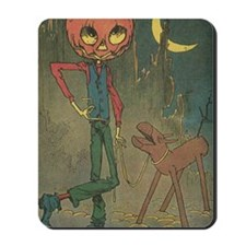 Oz Jack Pumpkinhead and Sawhorse Mousepad