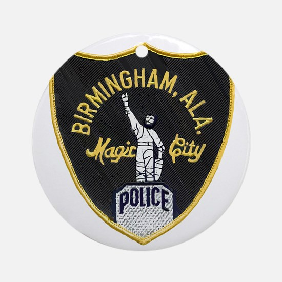 Birmingham Police patch Round Ornament