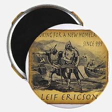 Leif Ericson Magnet