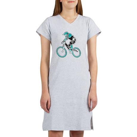 Mountain Biker Women's Nightshirt