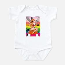 Pin Up Girl Infant Bodysuit