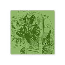 "Oz Witches Square Sticker 3"" x 3"""