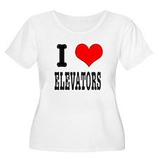 I Heart (Love) Elevators T-Shirt