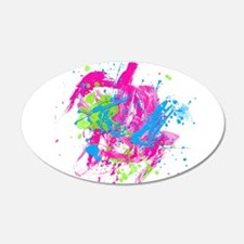 80s Splatter Wall Decal
