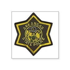 "Arkansas SP patch Square Sticker 3"" x 3"""