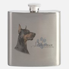 Doberman Flask