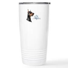 Doberman Travel Mug