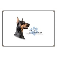 Doberman Banner