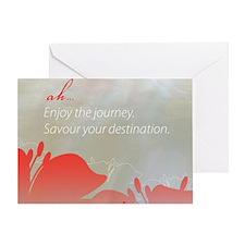 Amandah Tanner Quote Greeting Card