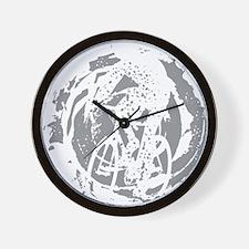 Psycho-Cross Wall Clock