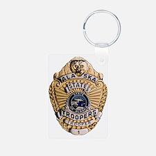 Alaska ST badge Keychains