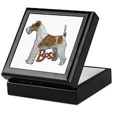 Wirehaired Fox Terrier Keepsake Box