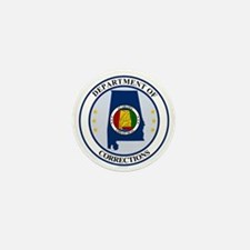 Alabama DOC seal Mini Button