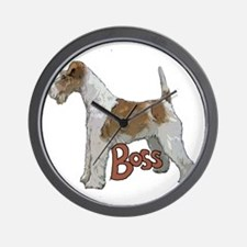 Wirehaired Fox Terrier Wall Clock