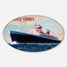 United States with Black Border Decal