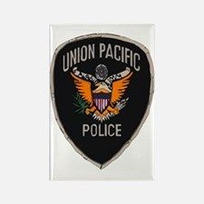 Union Pacific Police patch Rectangle Magnet