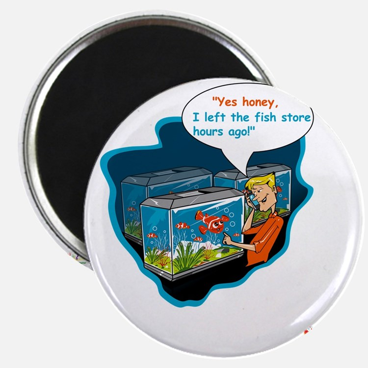 LTR - Left The Fish Store Hours Ago! Magnet