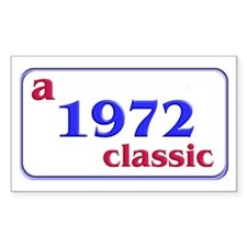 1972 Rectangle Decal