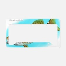 Smallmouth Bass License Plate Holder