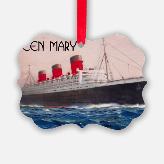 Queen Mary Ornament