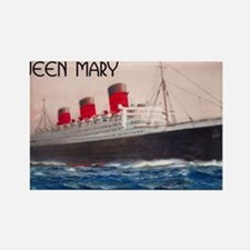 Queen Mary Rectangle Magnet
