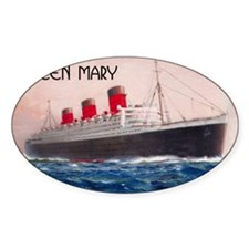 Queen Mary Bumper Stickers