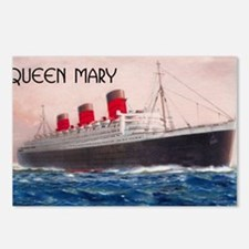 Queen Mary Postcards (Package of 8)