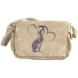 Greyhound Canvas Messenger Bags
