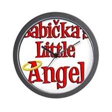Babickas Little Angel Wall Clock