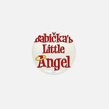 Babickas Little Angel Mini Button