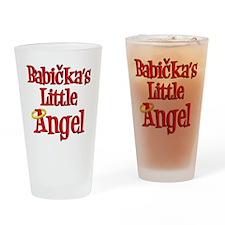 Babickas Little Angel Drinking Glass