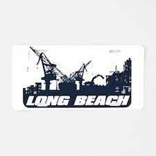 Port of Long Beach Aluminum License Plate