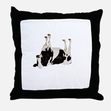 Cow Tipping Throw Pillow