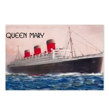 Queen Mary Liner Postcards (Package of 8)