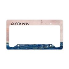 Queen Mary Liner License Plate Holder