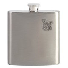 Save Dogs from Thugs Flask