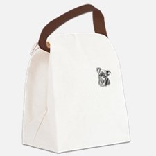 Save Dogs from Thugs Canvas Lunch Bag