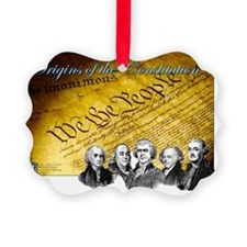 Declaration of Independence Found Ornament