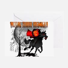Headless Horseman Greeting Cards