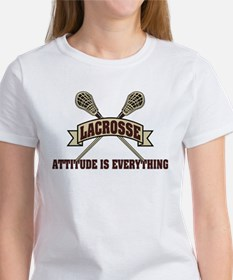 Lacrosse Attitude Is Everything Women's T-Shirt