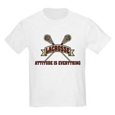 Lacrosse Attitude Is Everything T-Shirt