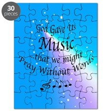 God Gave Us Music Puzzle