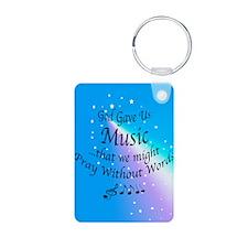 God Gave Us Music Keychains