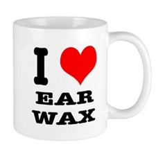 I Heart (Love) Ear Wax Mug