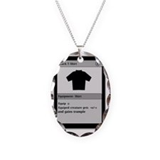 Funny Gamer T Shirt Necklace