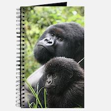 Mountain Gorilla Father  Son Journal
