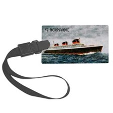 SS Normandie Luggage Tag